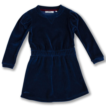 Jalena - Blue velour dress for children