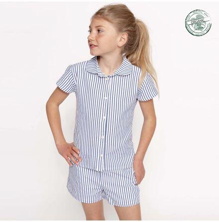 Genova - Striped blouse for children