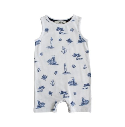 Egon - Printed beachsuit for baby