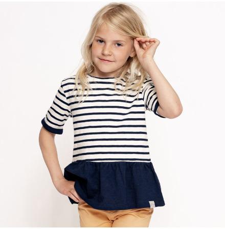 Benita - Striped top for children