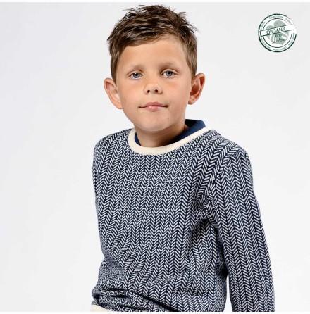 Arrak Fishbone Knitted Sweater