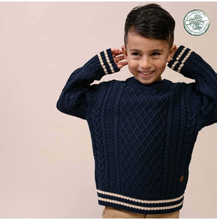Markus Cable Sweater