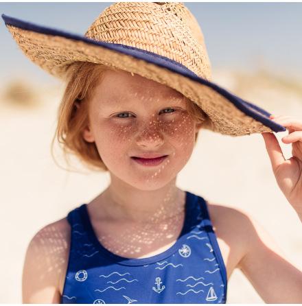 Agnes - Swimsuit for children, UV-protection (UPF 50+)